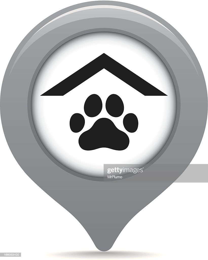 Pet store map pointer