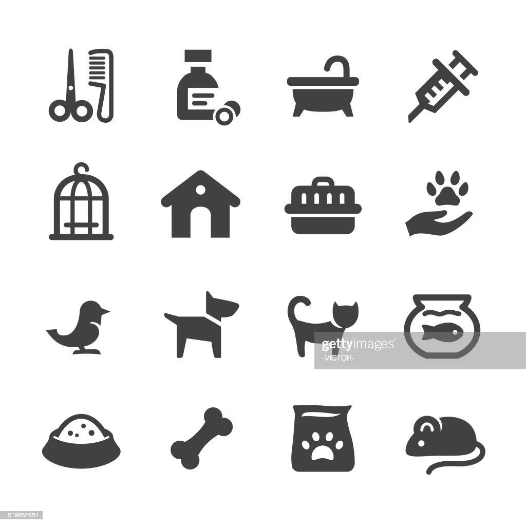 Pets Icons - Acme Series : Stockillustraties