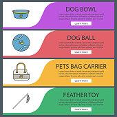 Pets suppplies icons