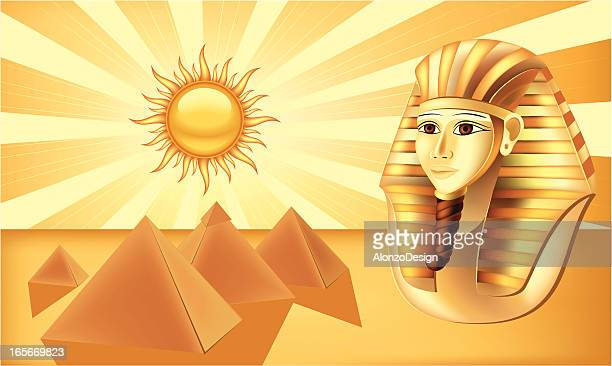 pharaoh and pyramids - the sphinx stock illustrations, clip art, cartoons, & icons
