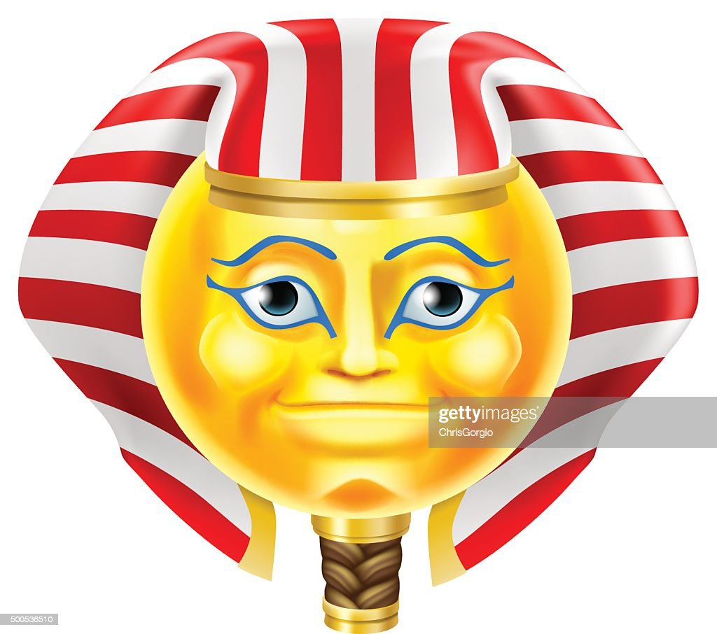 Pharaoh Emoji Emoticon
