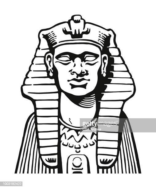 pharaoh - pharaoh stock illustrations