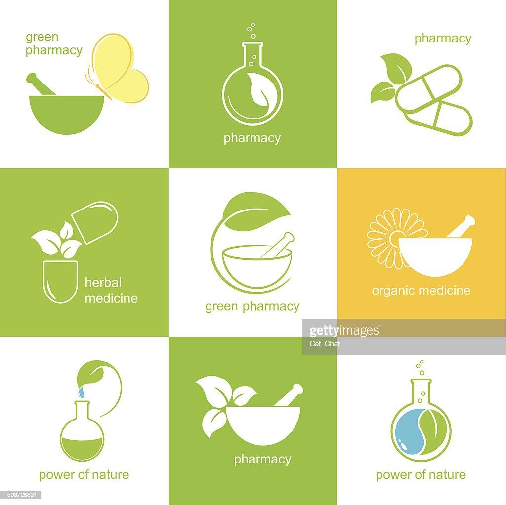 Pharmaceutical icons