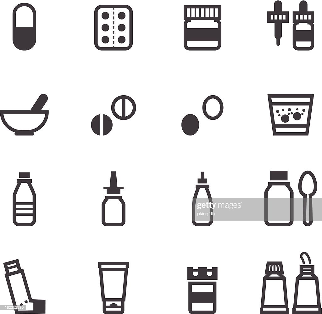 Pharmacy and Medical Icons