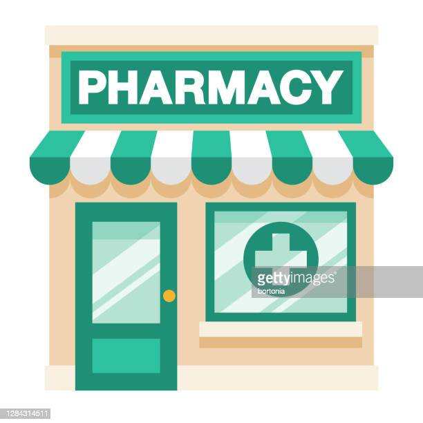 illustrazioni stock, clip art, cartoni animati e icone di tendenza di farmacia su sfondo trasparente - farmacia