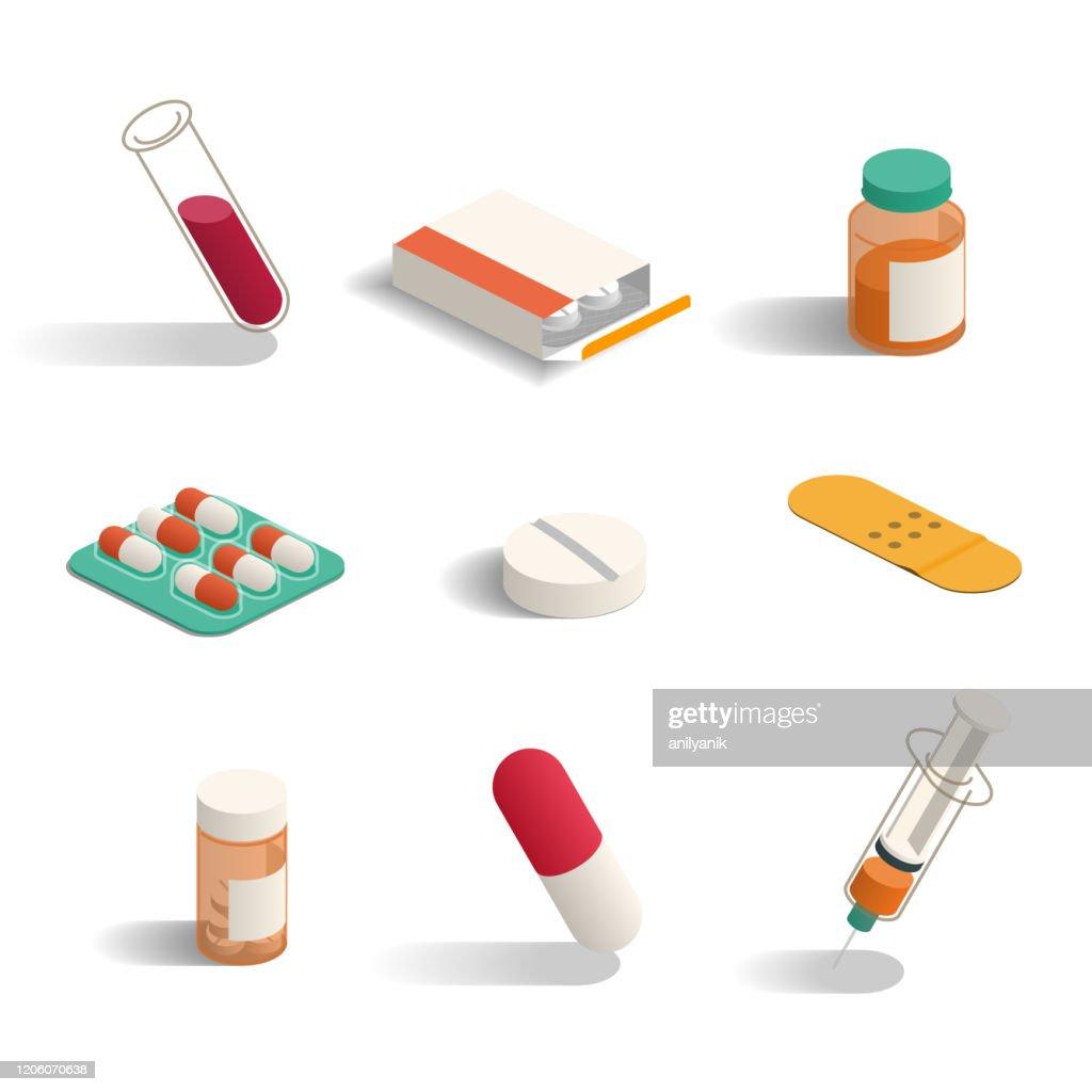 Farmácia : Ilustração