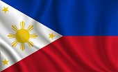 Philippine flag background