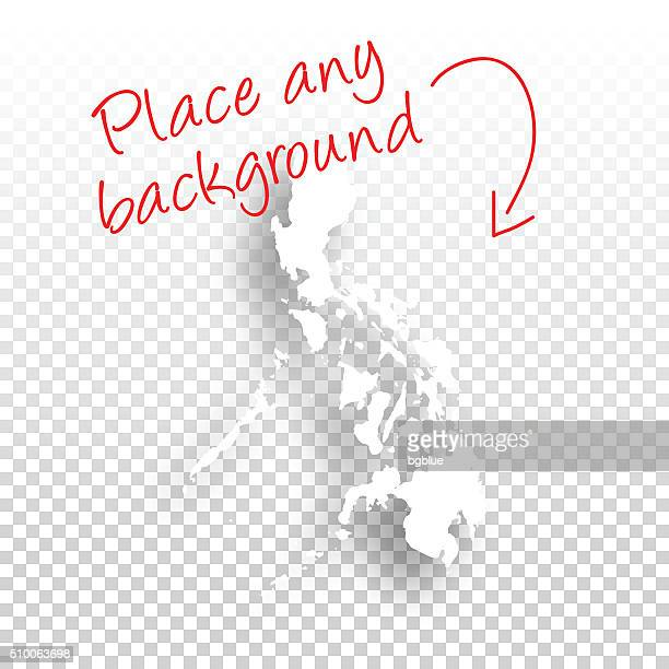 Philippinen-Karte für design-Vorlage Hintergrund