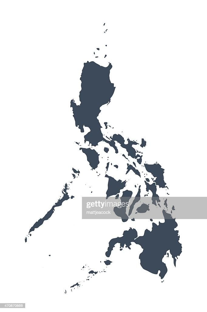 Karte Philippinen.Philippinen Landkarte Vektorgrafik Getty Images