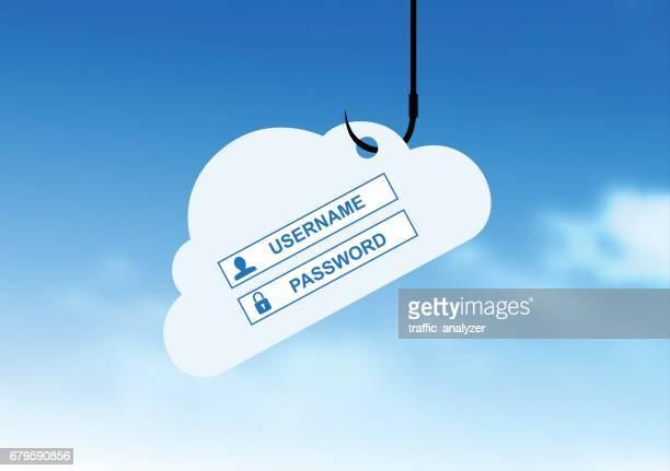 phishing attack - phishing stock illustrations