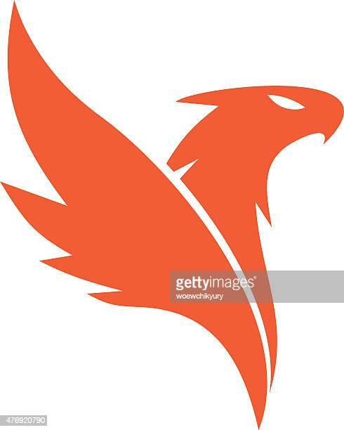 phoenix vector - ash stock illustrations, clip art, cartoons, & icons