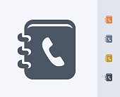 Phone Book - Carbon Icons