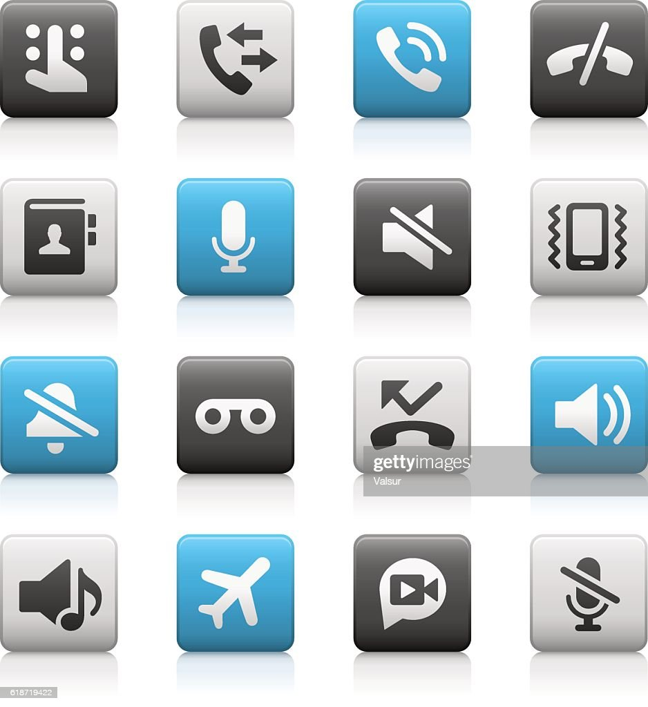 Phone Calls Interface Icons // Mate Series
