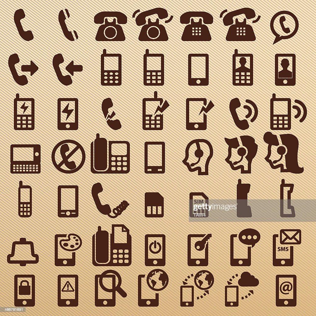 Phone symbols