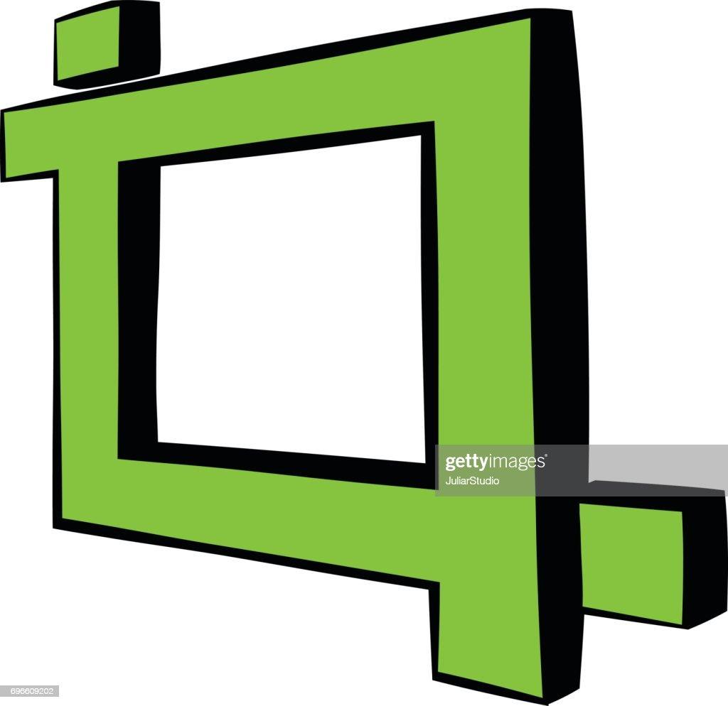 Foto Rahmen Symbol Cartoon Vektorgrafik   Getty Images