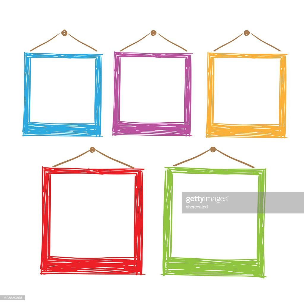 Photo frames vector.