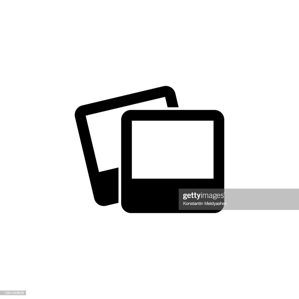 photo glyph icon. Simple vector for UI and UX, website or mobile application on white background