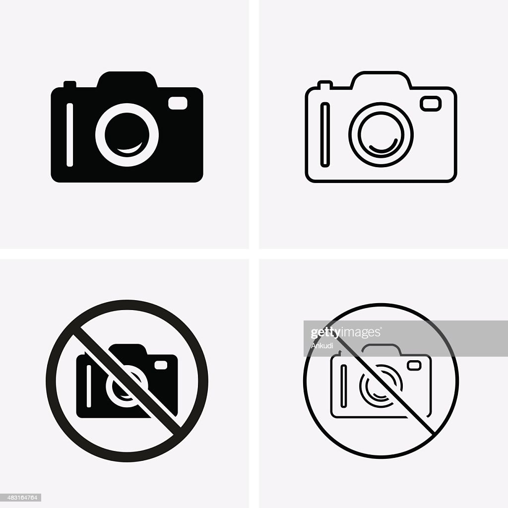 Photo or Camera Icons