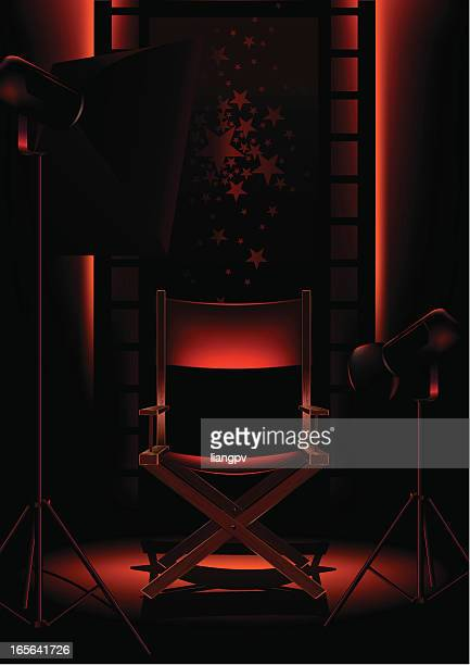 photo studio - stage set stock illustrations