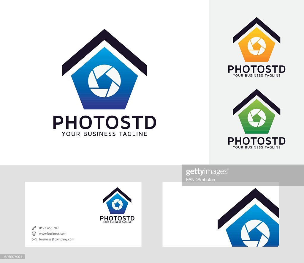Photo Studio vector logo