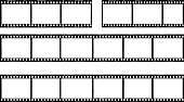 photographic film,film stripes, photo frames, free copy space,vector