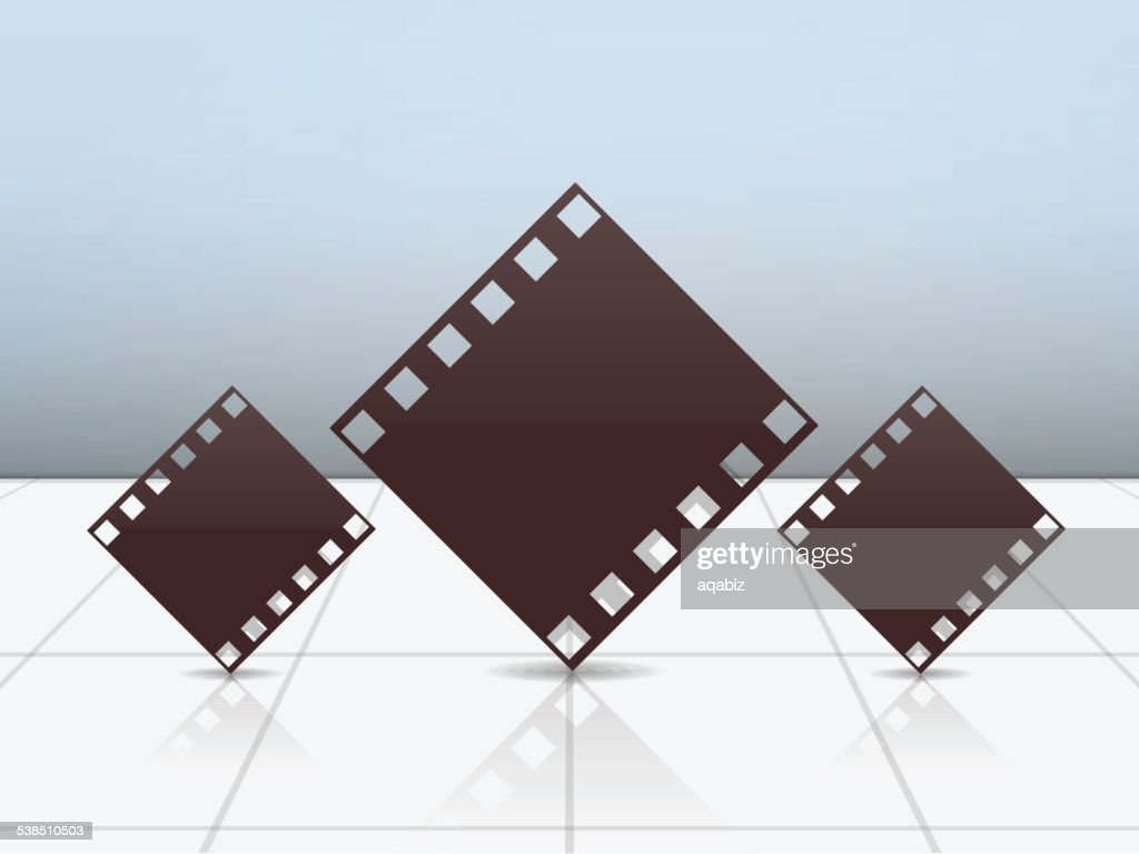 Photography concept with film strip.