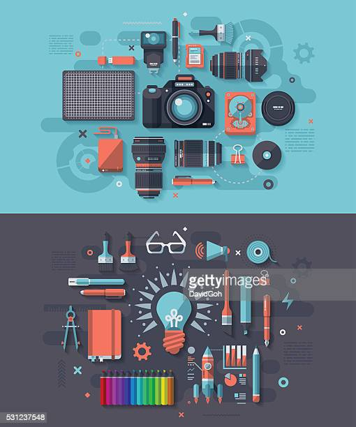 Photography & Creativity Concept
