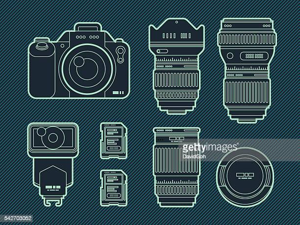 Photography Equipment Set