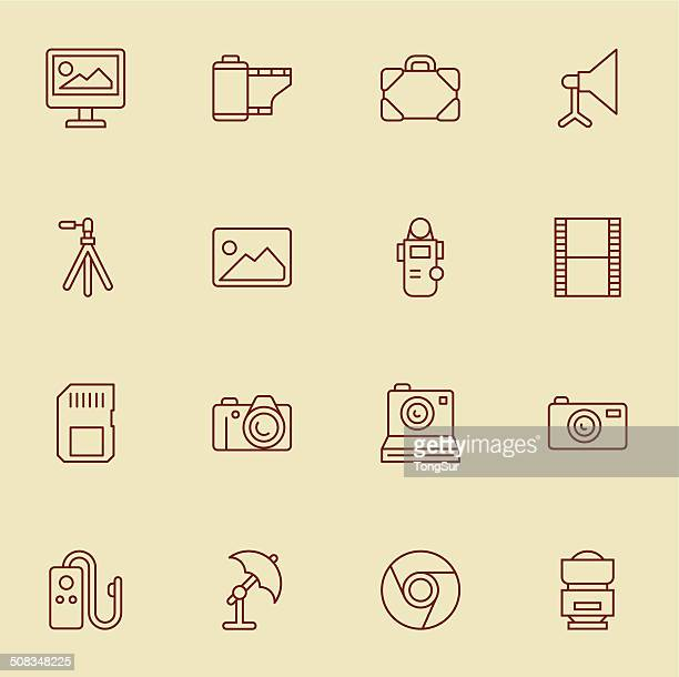 Photography Icons - Light Color