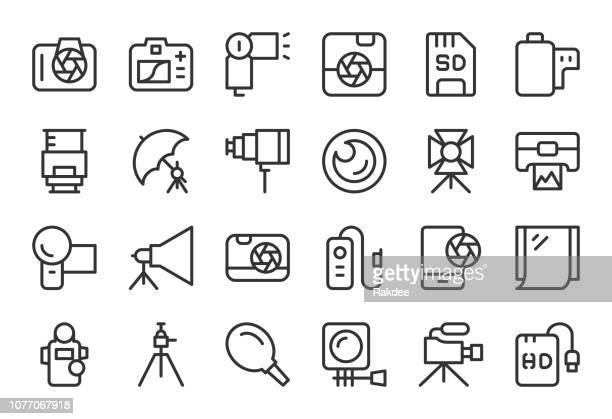 Photography Icons - Light Line Series
