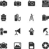 Photography icons - Regular