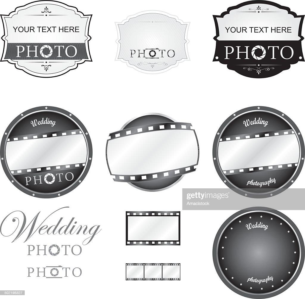 Photography Logo Set Vector