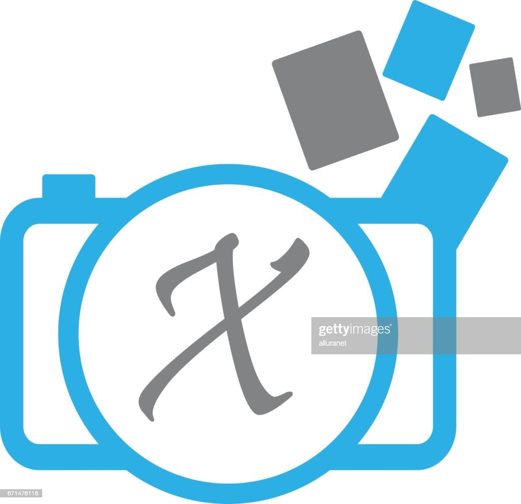 Photography Service Initial X