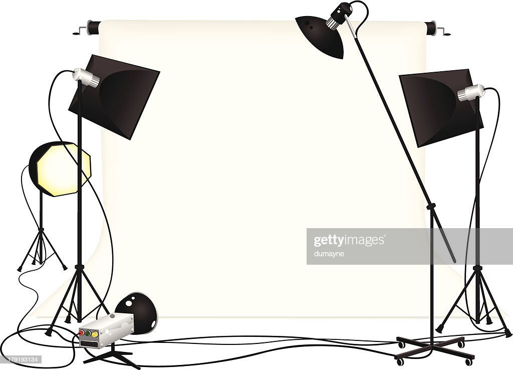 Photography studio and lighting equipment