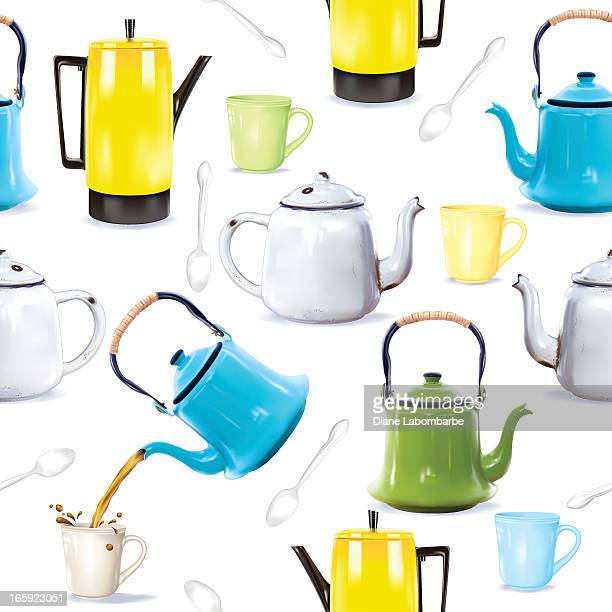 Photorealistic Coffee Pots, Teapots and kettles