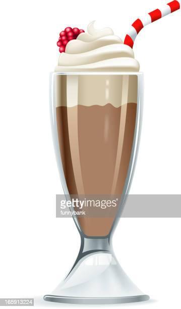 ilustrações, clipart, desenhos animados e ícones de milk-shake - milk shake