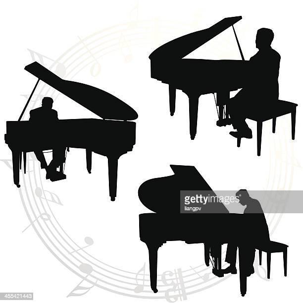 Illustrations Et Dessins Anim 233 S De Pianiste Getty Images