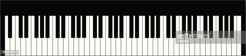 piano keyboard vector art | getty images