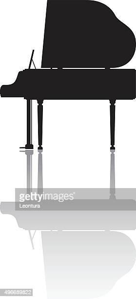 ピアノ - グランドピアノ点のイラスト素材/クリップアート素材/マンガ素材/アイコン素材