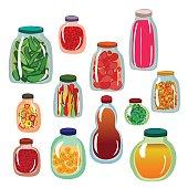 Pickles icon set