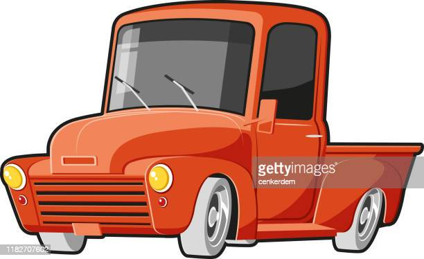 pickup american - car ownership stock illustrations, clip art, cartoons, & icons