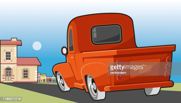 pickup truck - car ownership stock illustrations, clip art, cartoons, & icons