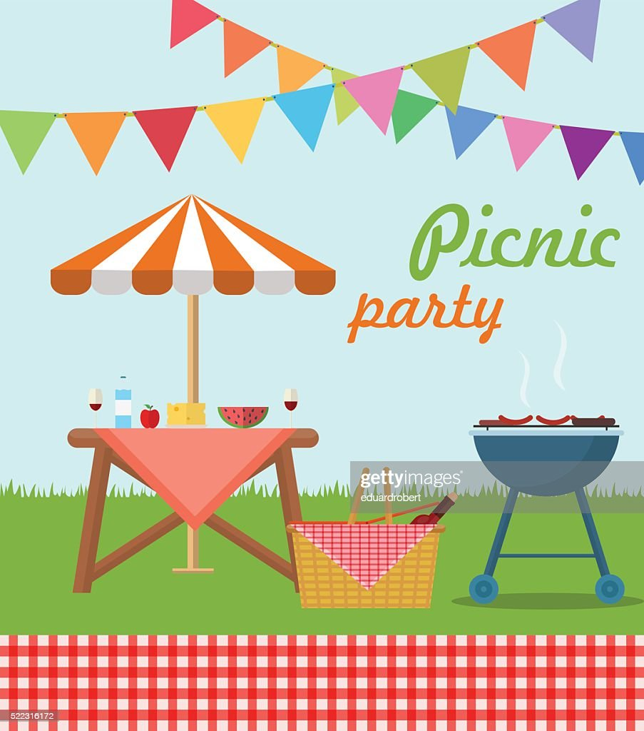 Picnic party poster
