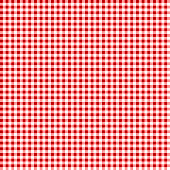 Picnic table cloth. Seamless checkered vector pattern. Vintage color plaid fabric texture.