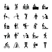 Pictogram Of Everyday Glyphs 52