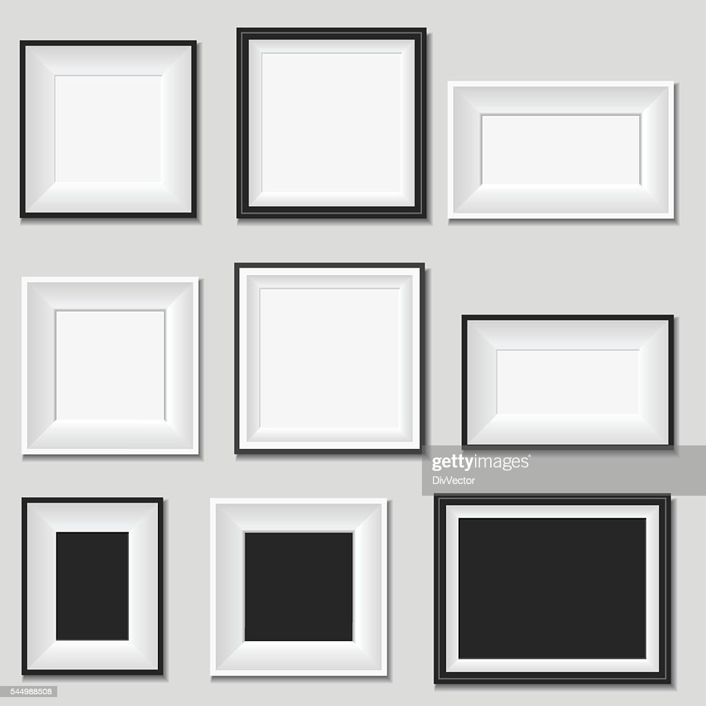Picture frame : Stock Illustration