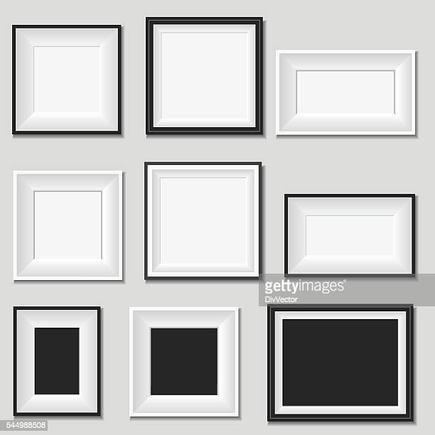 picture frame - picture frame stock illustrations