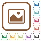 Picture simple icons