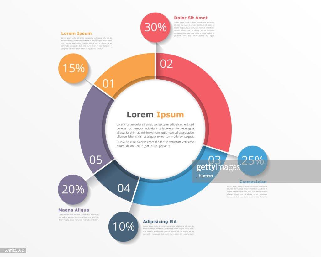 Pie Chart Infographics