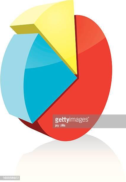 3 d チャート - ウェブ2.0点のイラスト素材/クリップアート素材/マンガ素材/アイコン素材